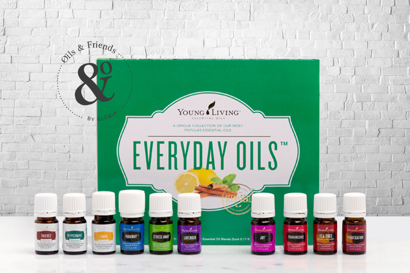 everyday oils kit by Oils and friends by Gloria tag