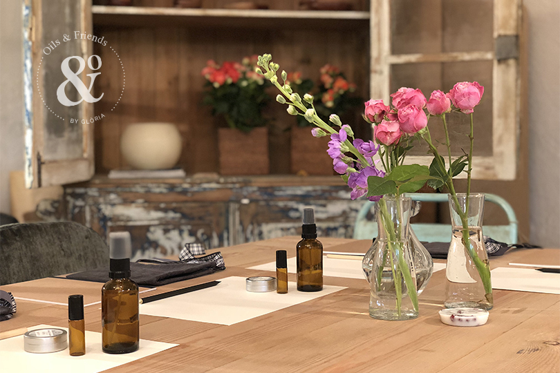 Taller de aromaterapia esencial by Oils and Friends by Glòria